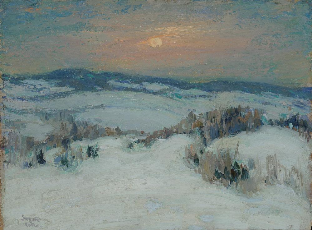 Paysage d'hiver (Collines d'Arthabaska)