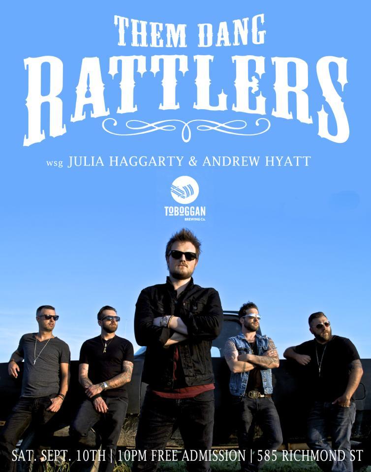 them-dang-rattlers-dundas-poster-music-photography-mark-maryanovich