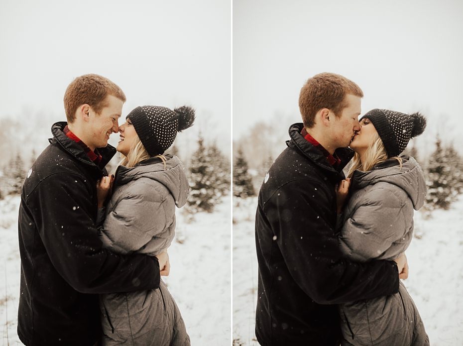 Hailey & Dan Hansens Tree Farm Engagement Session in Anoka, MN_0092.jpg