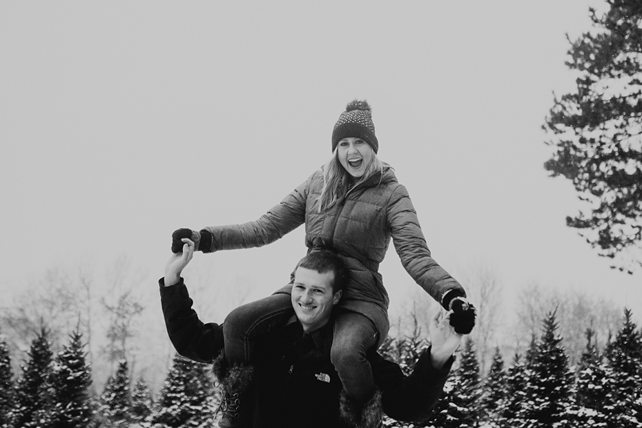 Hailey & Dan Hansens Tree Farm Engagement Session in Anoka, MN_0094.jpg