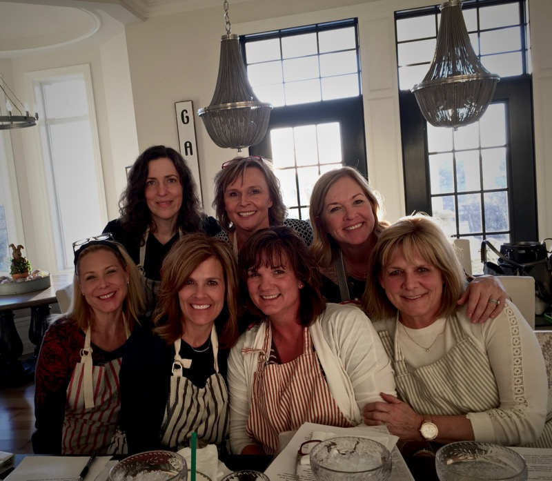 Thank you ladies for another fun class! Cheers! XOXO Paula