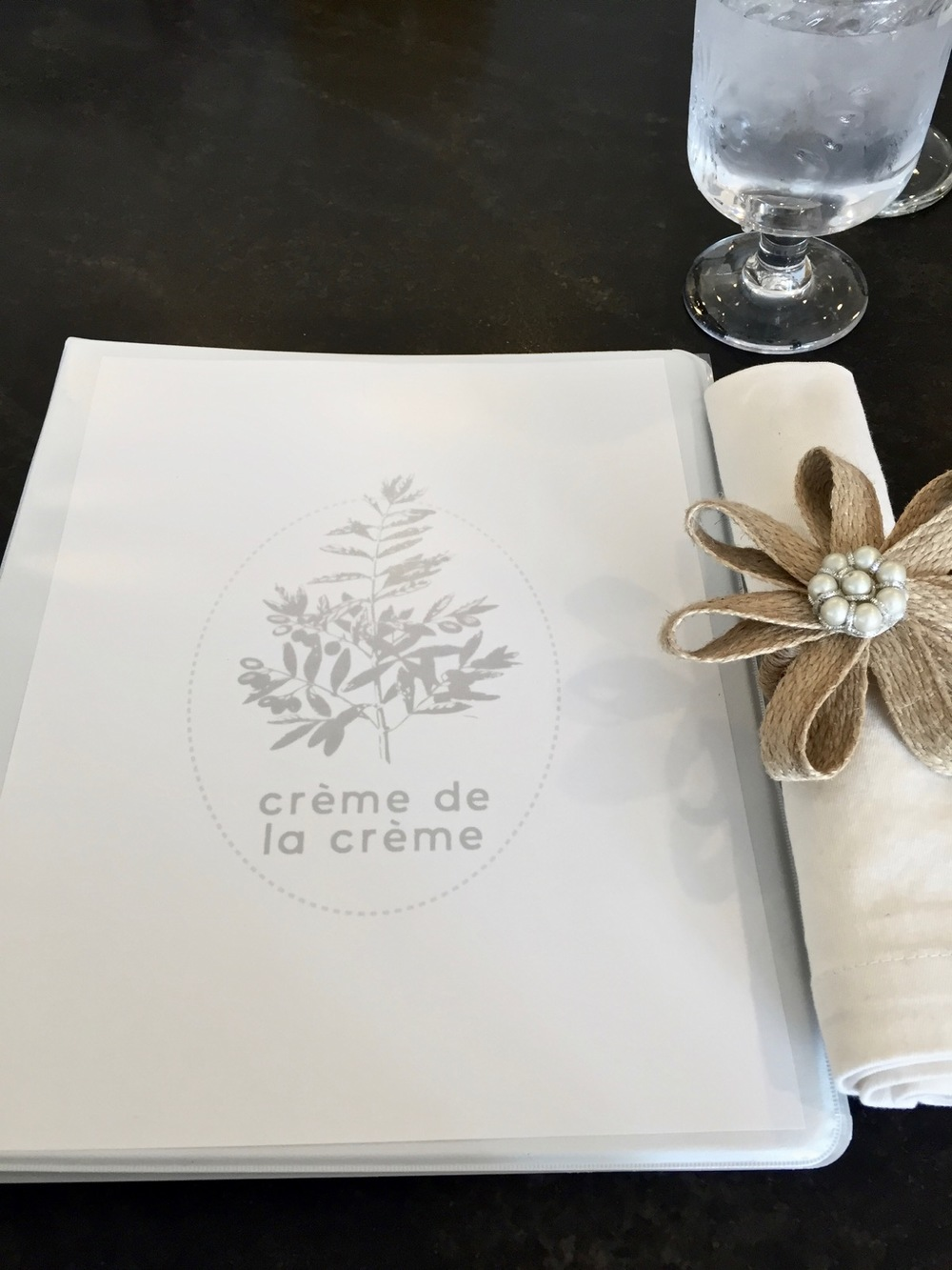 Ladies Who Cook Fabulous Dinners — Crème de la Crème