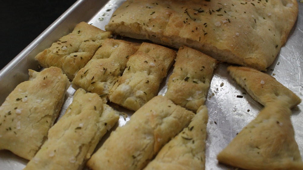 Beautiful focaccia!
