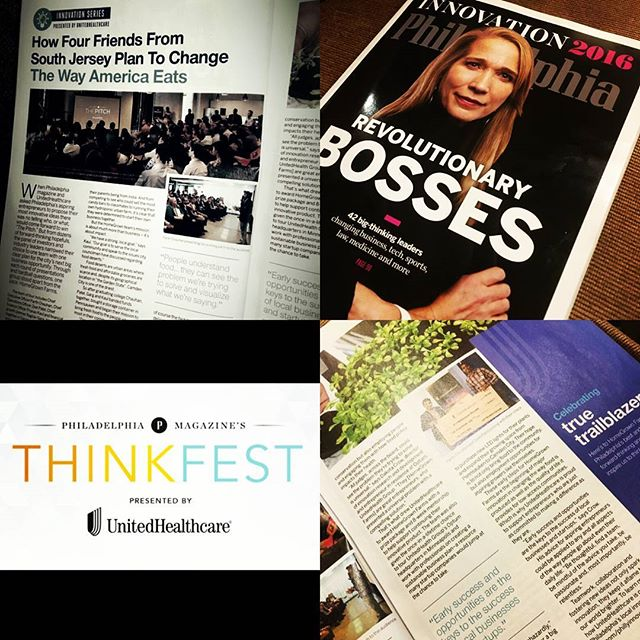 Check out our write-up with #uhc  in this month's issue of @phillymag! We'll see you at #ThinkFest2016 on Nov. 15! #Philadelphia #SouthJersey #PhillyMag #UHC #November #Innovation #ChangeTheWayAmericaEats #GrowLocalEatLocal #hydroponics #sustainable #farming #HGF