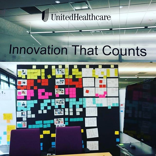 Thanks to @optum.uhcservice and #myuhc for an amazing look at what #innovation means at a #Fortune500 company! Looking forward to putting what we learned into action  #hgf #hyperlocal #indoorfarming #sustainability #firstbusinesstrip