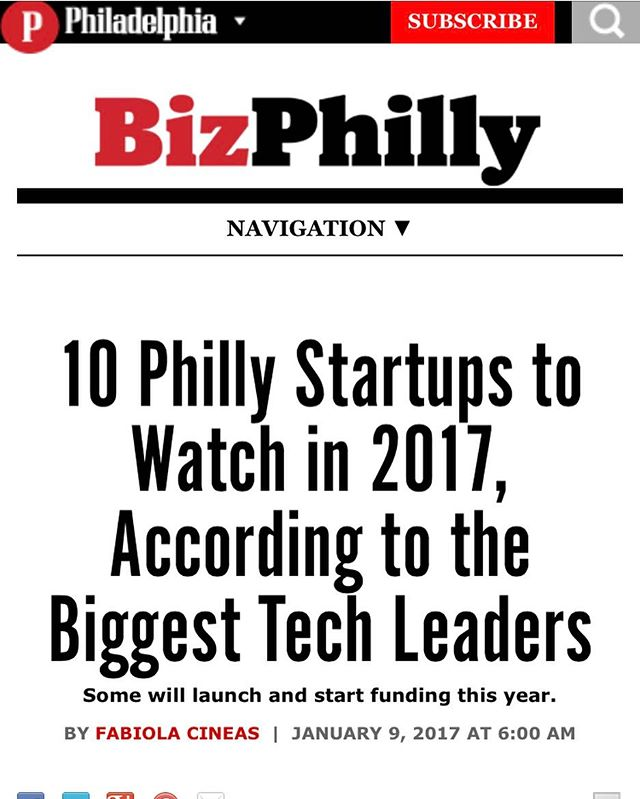 Honored to be named a top 10 startup to watch in 2017 by Philadelphia magazine. 💪👍🏻 Make sure to stop but Jan 16th at the Cherry Hill Whole Foods to buy some #homegrown herbs 🌿! http://www.phillymag.com/business/2017/01/09/10-philly-startups-to-watch-in-2017-according-to-the-biggest-tech-leaders/