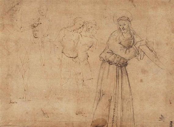 Figure Study, Domenico Ghirlandaio