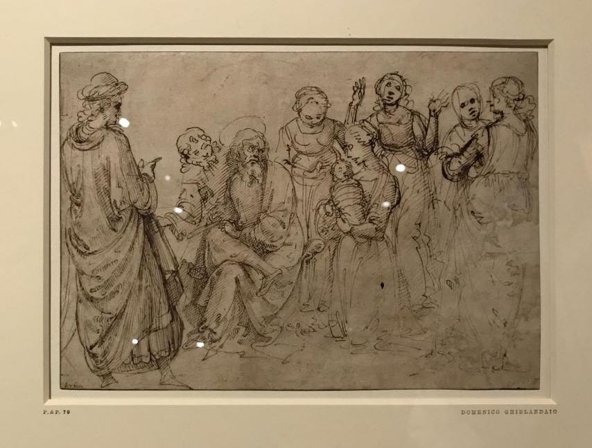 The Birth of the Virgin, Domenico Ghirlandaio