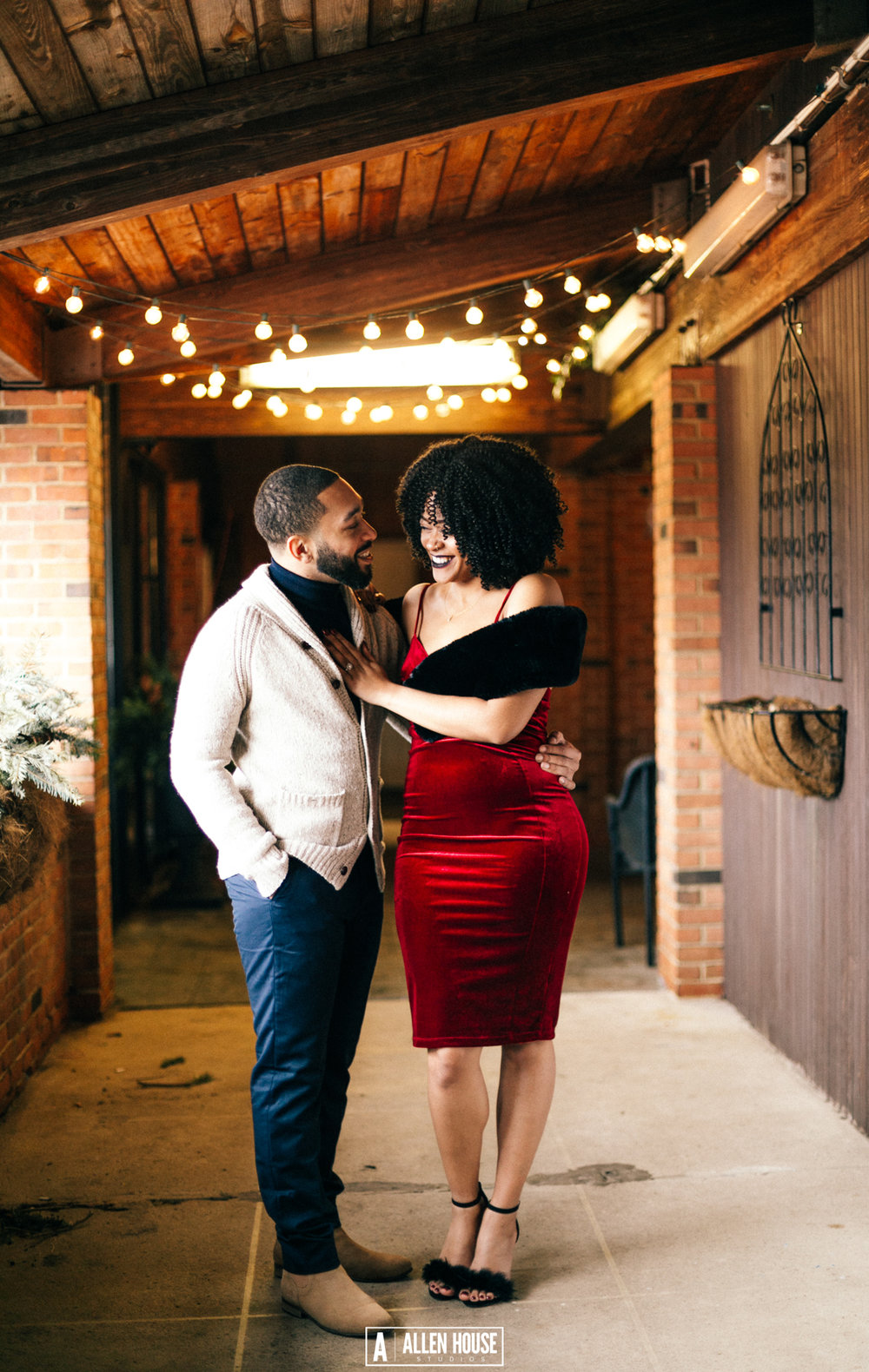 Butterflies in your stomach + smiles on your face - Every engagement session should be unique to the couple. Whether we go to the school where you first met, where you had your first date, or just a breathtaking location with your fiancé. These photos will capture this piece of your journey as a couple.