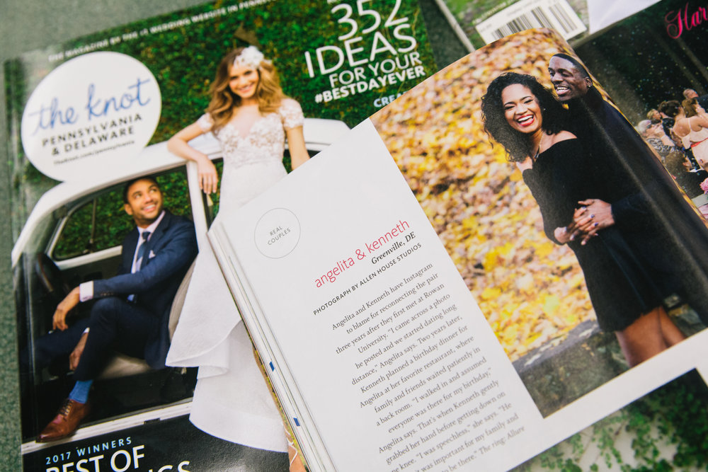 FEATURED IN THE KNOT -