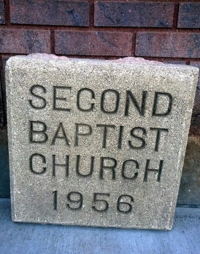 2nd Baptist Church Cornerstone