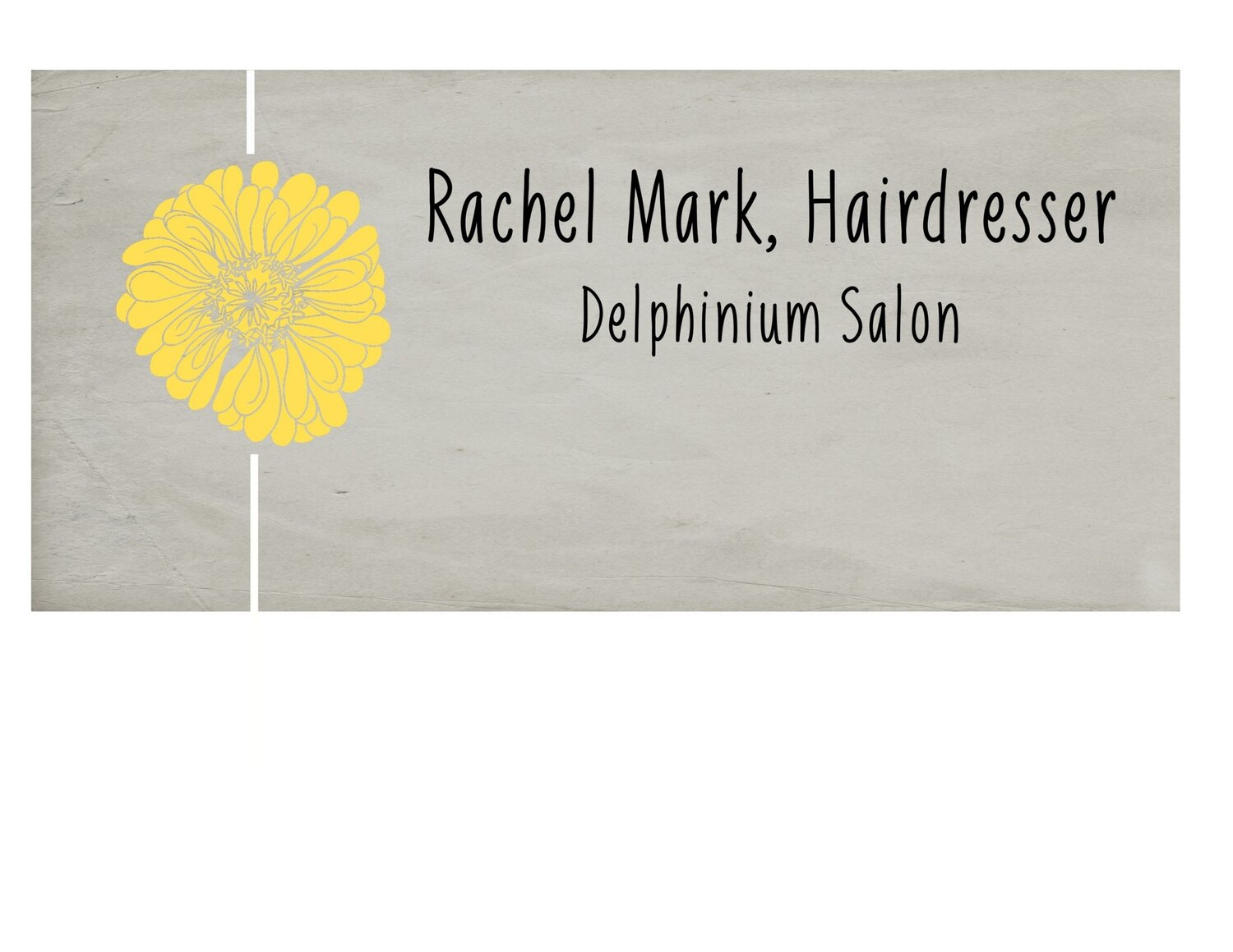 Rachel Mark Hairdresser, Delphinium salon