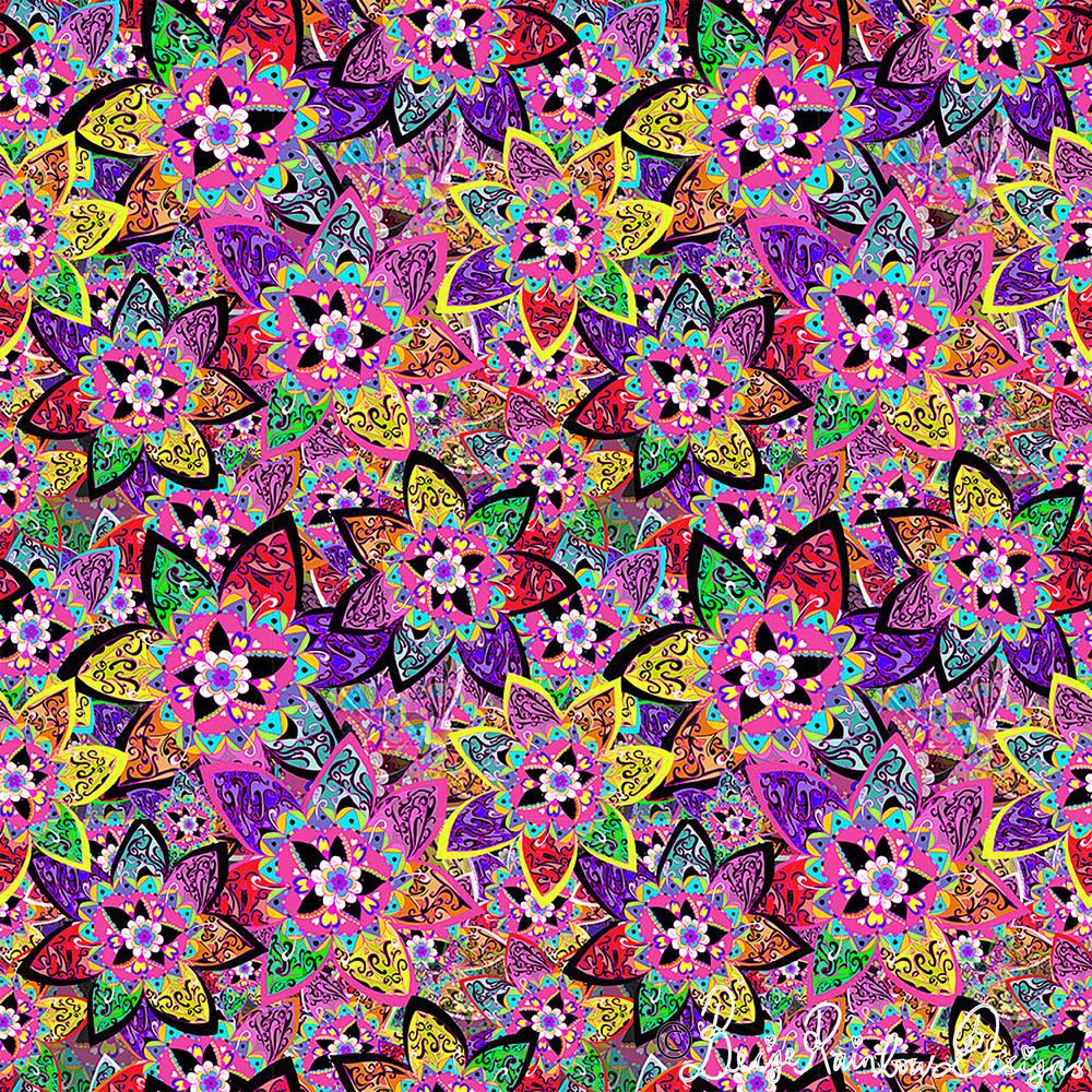 Neon Bouquet