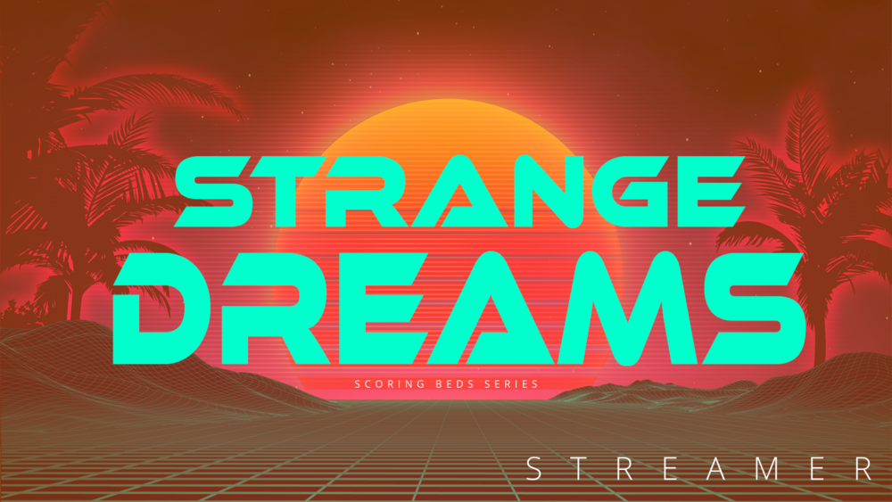 Strange Dreams - Mysterious darkness with more than a hint of 80's