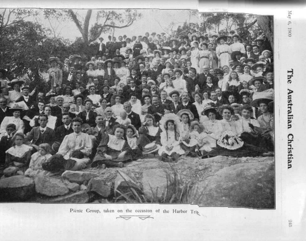 1909 picnic