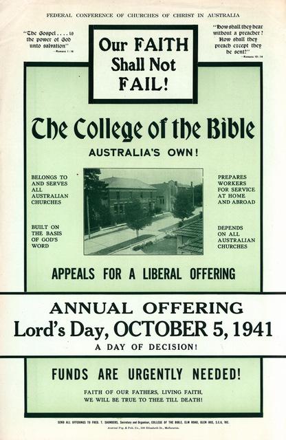 COB poster 1941
