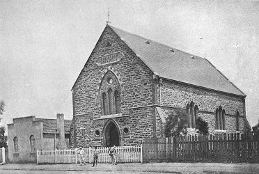 Hindmarsh Church of Christ, SA, established 1855