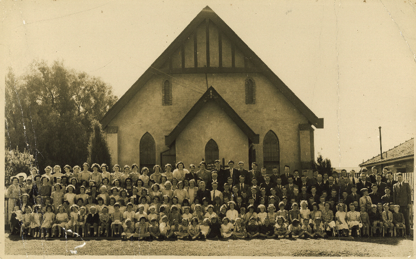 Church of Christ North Essendon, 1952