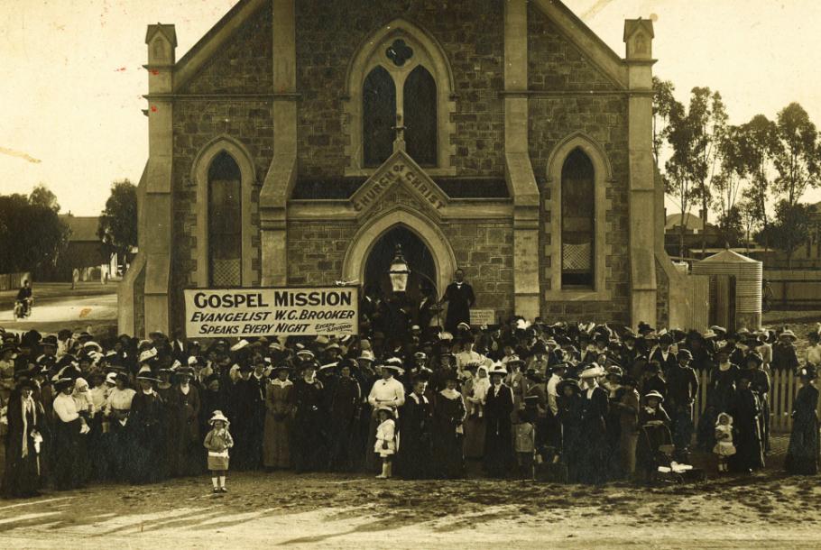 A church 'on the way' – Balaklava, SA c.1912