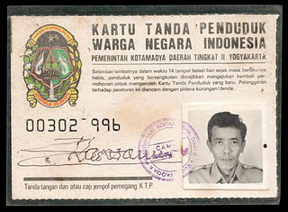 In Indonesia, religion is recorded on every adult's Resident Identity Card.