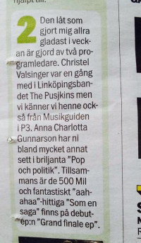 Aftonbladet gillar oss!