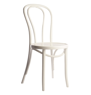 White Bentwood Chair  $10.00