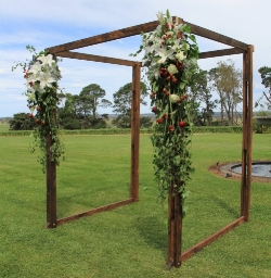 Grand Wooden Arbour  $370.00