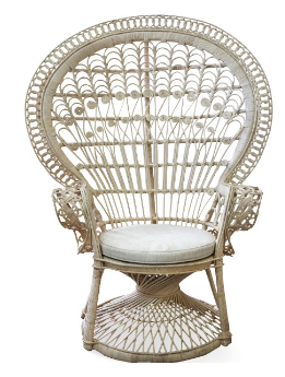 Natural Peacock Chair $100.00