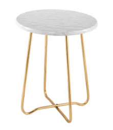 Marble Side Table $35.00