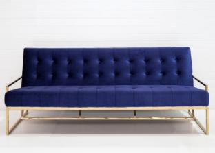 Navy 3 Seat Sofa $190.00
