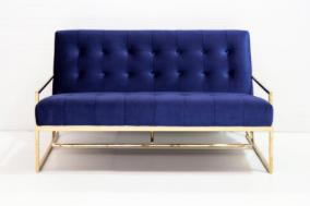 Navy 2 Seat Sofa $170.00