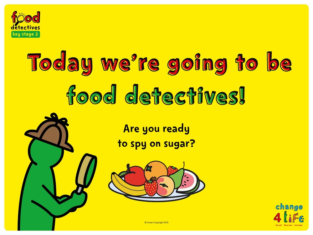 C4L - Food Detectives KS2 Powerpoint