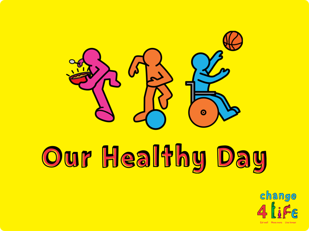 C4L- Our Healthy Day - Reception Presentation