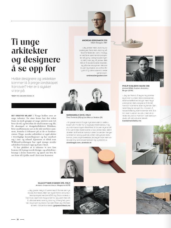 Bilde fra magasinet Utsikt
