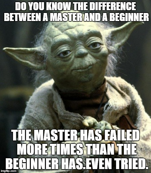 Yoda's wisdom never seems to disappoint us.