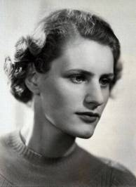 Diana Athill in the 1930s