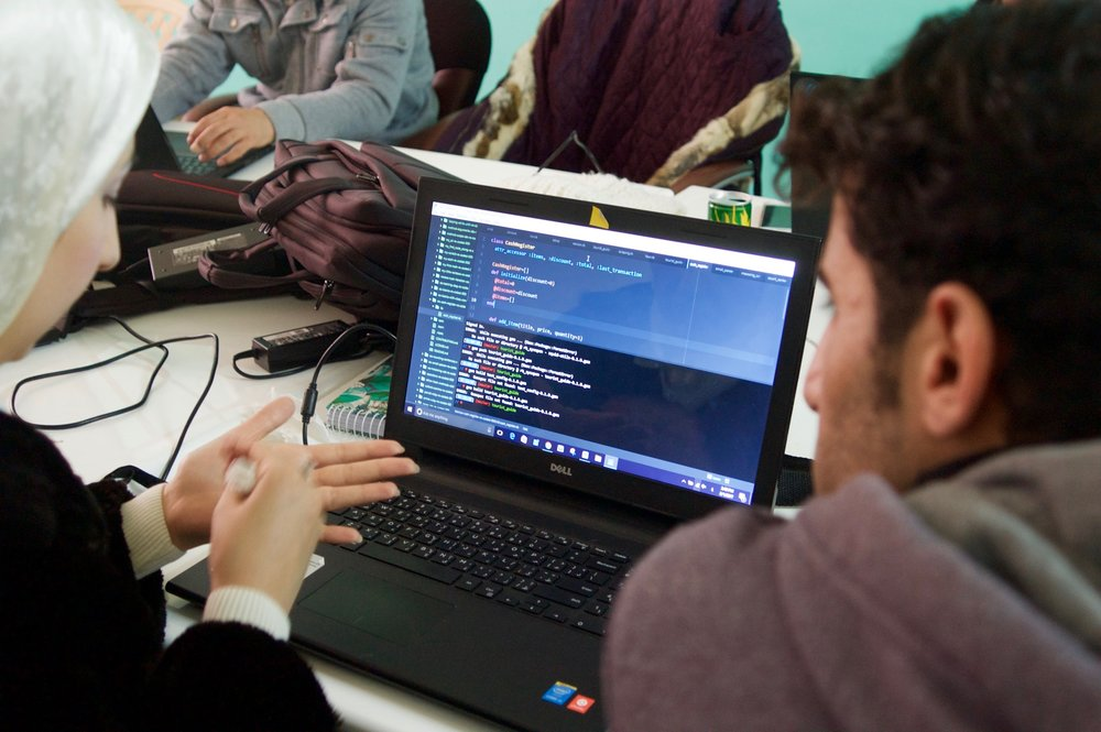 CODING BOOTCAMPS - Our programs up-skill conflict affected youth with in demand coding and soft skills and enable them to access purposeful work in the tech sector