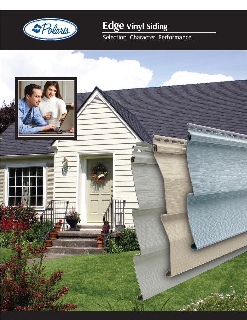Polaris Edge Vinyl Siding Brochure Cover
