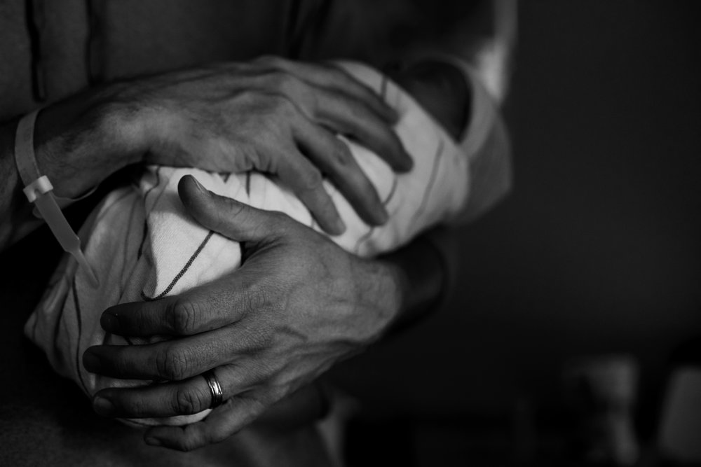 Daddy's Tender Touch by Caren Hespeler