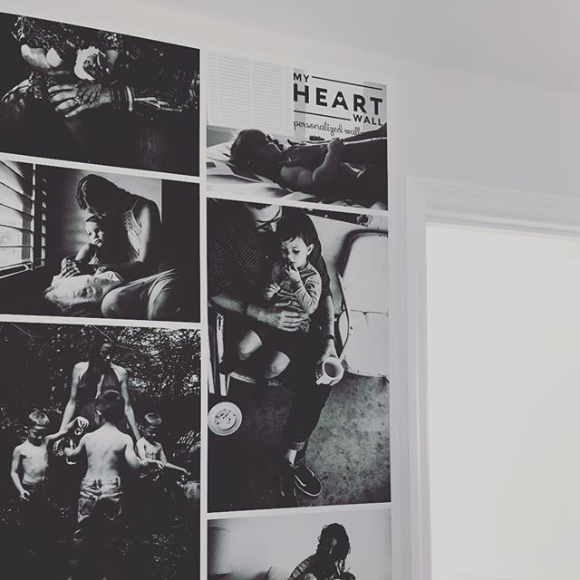 This is one of the most amazing products I have seen from @myheartwall Seriously stunning. #maternityphotography #birthphotography #motherhoodsocietyretreat #product #wallpaper