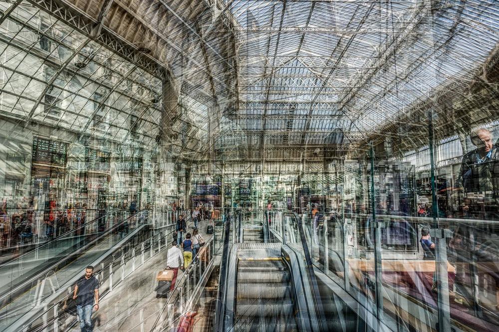 Hall de la gare de Lyon 4