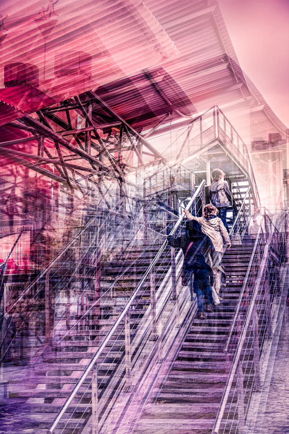 escalier de la Villette