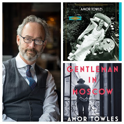 Amor Towles - Author of A Gentleman in Moscow and Rules of CivilityAugust 10, 2017Online tickets available June 13, 2017