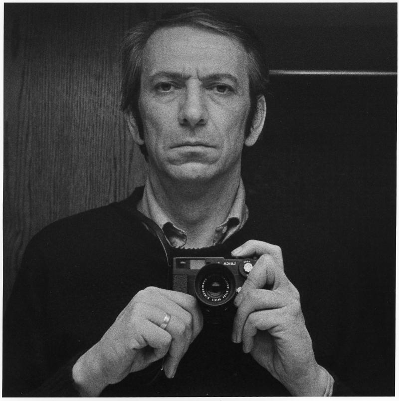 Charles Gagnon, Autoportrait with Leica, circa 1973