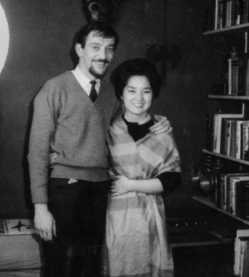 Charles&Michiko, New York City, circa 1959