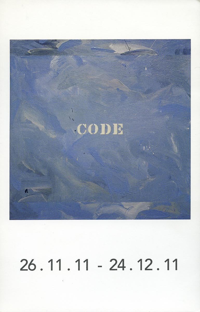Invitation à l'exposition Galerie Roger Bellemare-Christian Lambert, 2011