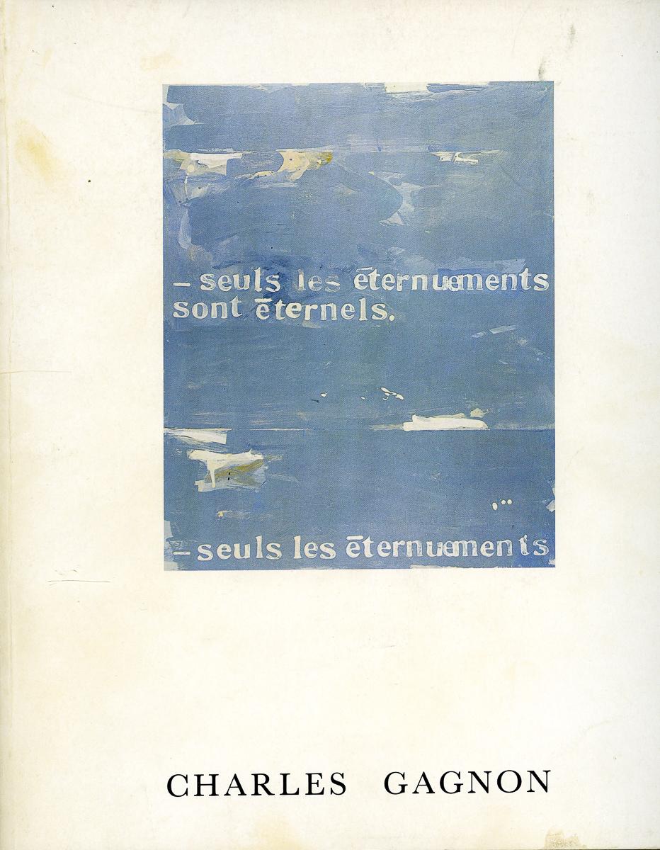 catalogue de la rétrospective au MMFA, 1978