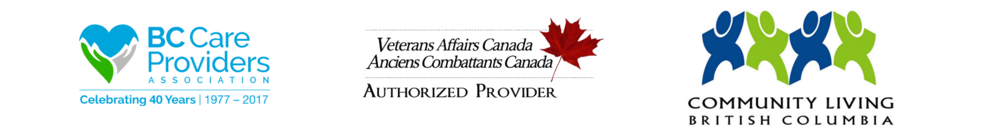Qualified service provider for Community Living BC. Members and supporters of the BC Care Providers Association.
