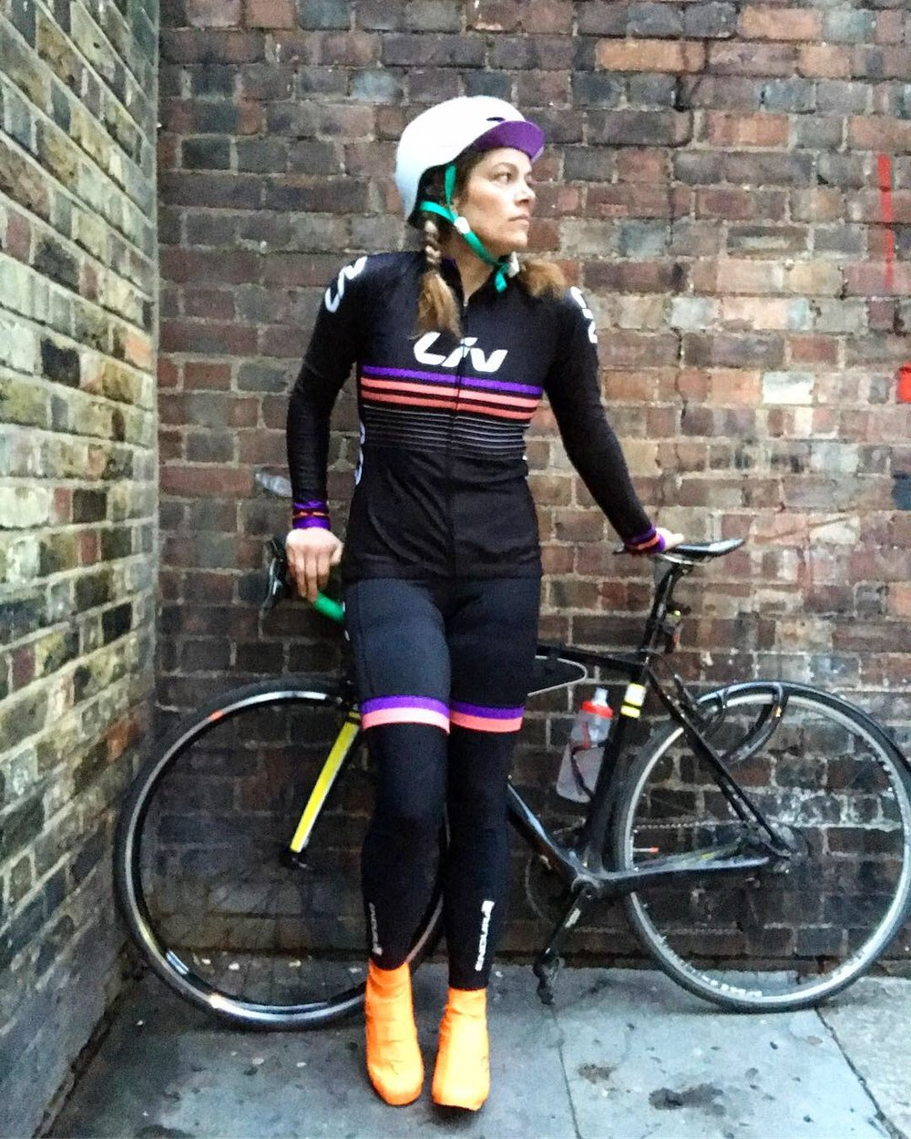 Jersey and shorts courtesy of Liv Cycling.