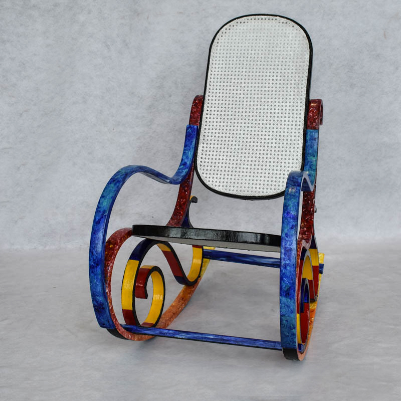 The Painted Rocker
